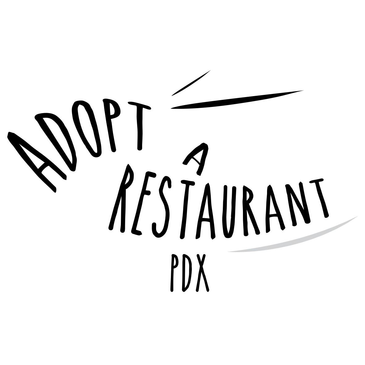 Adopt A Restaurant PDX logo